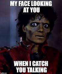 Mj Meme - mj thriller imgflip
