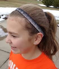 go girl headbands black silver glitter go girl headband soccer