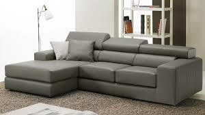 canapé d angle en cuir gris canape angle cuir gris royal sofa idée de canapé et meuble maison