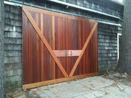Cedar Barn Door Terrific How To Make A Sliding Door Yourself Youtube In How To