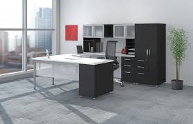 Home Office Furniture Vancouver Mayline E5 Open Plan Benching Desk System At Boca Raton Office