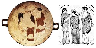 Greek Vase Painting Techniques Prometheus Pandora