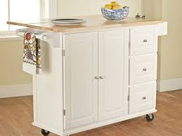 Kitchen Rolling Cabinet Kitchen Rolling Kitchen Island And 45 Stainless Steel Kitchen