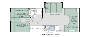 class a rv floor plans amazing design class c motorhome floor plans chateau motorhomes