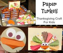 turkey craft for a thrifty recipes crafts diy and more