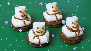 snowman marshmallows how to make snowman of marshmallows and oreo easy and delicious