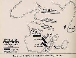 map of poitiers battle of poitiers september 19th 1356 a d