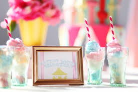 cotton candy wedding favor county fair wedding and party ideas