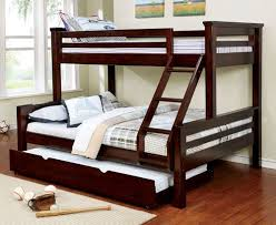 Twin Queen Bunk Bed Acme Limbra Twin Over Queen Bunk Bed In Gray - Long bunk beds