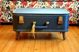 Suitcase Coffee Table Hello There Handmade Banner How To Vintage Suitcase Coffee Table