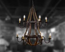 Wine Barrel Chandelier For Sale Bourbon Barrel Furniture Bourbon Barrel Artisan Cohen Wood