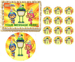 umizoomi cake toppers team umizoomi characters party edible cake topper frosting sheet