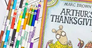 arthur s thanksgiving book kindergarten worksheets and thanksgiving story writing prompt