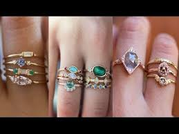 stone finger rings images Gemstone finger rings awesome uncut stone ring collections jpg