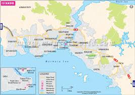 istanbul turkey map istanbul map map of istanbul city turkey