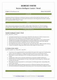 Ssis And Ssrs Resume Business Intelligence Analyst Resume Samples Qwikresume