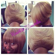 short hair cut for black women quick weave bob blonde hair