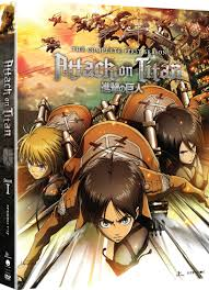 attack on titan on titan season 1 blu ray