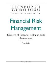 financial risk management exchange rate risk