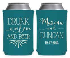 wedding can koozies on and 1a collapsible custom coolers wedding
