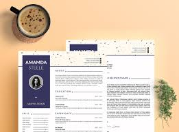 Adobe Indesign Resume Templates Memphis Resume Template Cv Template Letterhead N By