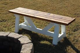 Firepit Benches White Pit Benches Diy Projects