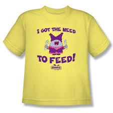 light yellow t shirt chowder need to feed youth light yellow t shirt cartoon network shop