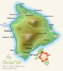 map of hawaii big island kau realty big island information and links
