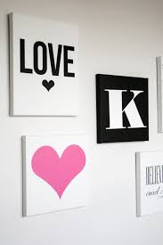 decor canvas painting ideas for teenagers quotes cottage bedroom