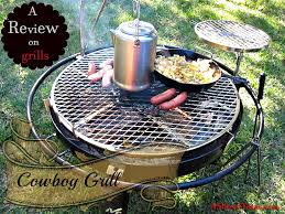 cowboy fire pit a slice of texas cowyboy grill cooking off grid and review