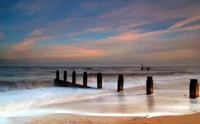 widescreen beach breakers coastal southwold backgrounds