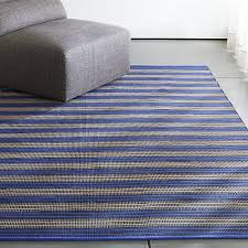 Crate And Barrel Outdoor Rug Sachi Blue Stripe Indoor Outdoor Rug Crate And Barrel