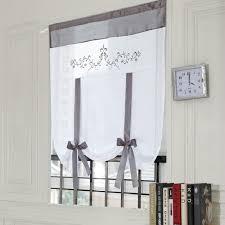petit rideau de cuisine blanc rideau tulle vente chaude café rideau cuisine court