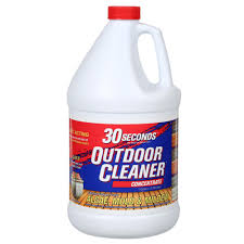 Best Way To Wash Walls by 30 Seconds 1 Gal Outdoor Cleaner Concentrate 100047549 The Home