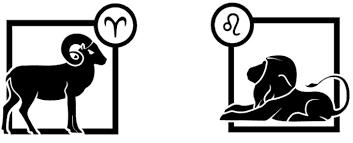 aries vs leo x vs y