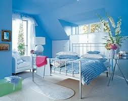 nice blue and beige paint color accent boy bedroom wall schemes