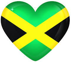 Jamaican Flag Day Jamaica Large Heart Flag Gallery Yopriceville High Quality