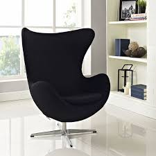 amazon com arne jacobsen egg chair black kitchen u0026 dining