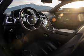 aston martin db11 interior 2017 aston martin db11 coupe review autoweb