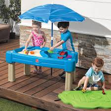 step2 busy ball play table step2 cascading cove sand and water table uk step2 850900