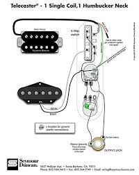 telecaster wiring diagram humbucker u0026 single coil guitar