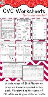 best 25 cvc worksheets ideas on pinterest phonics worksheets