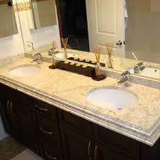 Bathroom Vanity Top Ideas Bathroom Bathroom Vanity Ideas With Colonial Cream Granite Vanity