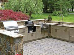 Backyard Kitchen Design Ideas by Outdoor Prep Table With Sink Bar And Fridge Google Search