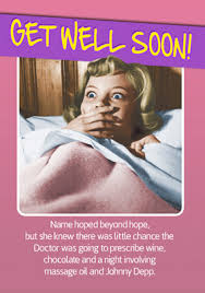 Get Well Soon Meme - get well soon cards non photo cards funky pigeon