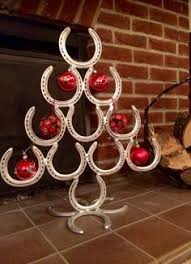 horseshoe christmas tree horseshoe christmas tree rustic country decor christmas