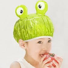 children adults animal shower cap bath time cartoon universal hat