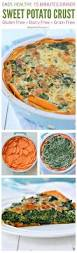Spinach Quiche With Cottage Cheese by Sweet Potato Crust Spinach Quiche Recipe A Well Whole30 And Sweet