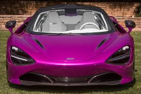 custom mclaren 720s extremely purple one off mclaren 720s presented to wealthy client