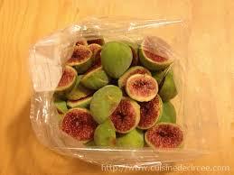 comment cuisiner des figues conserver des figues par congélation la cuisine de circée
